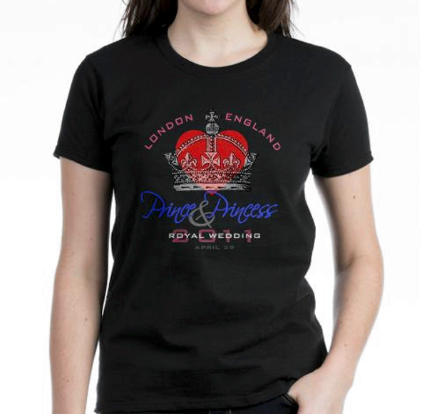 princess, princess t-shirt, british princess, british princess t-shirt