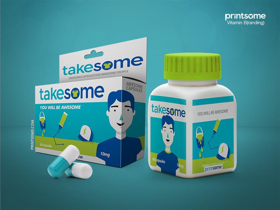 Printsome vitamins