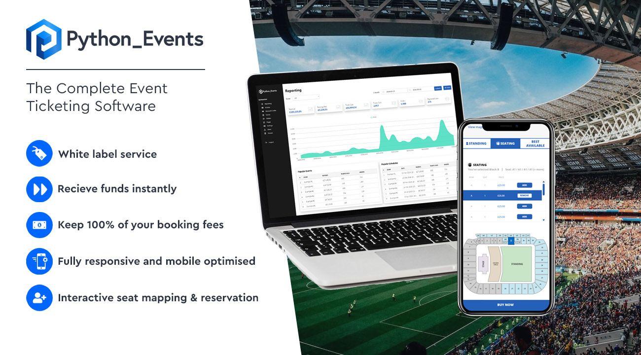 online ticketing platforms