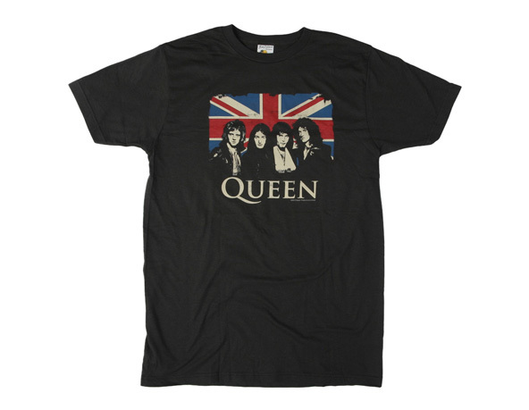 Queen Band T-shirt, Queen, Cornish T-shirts, Cornwall, screen printed, great britain