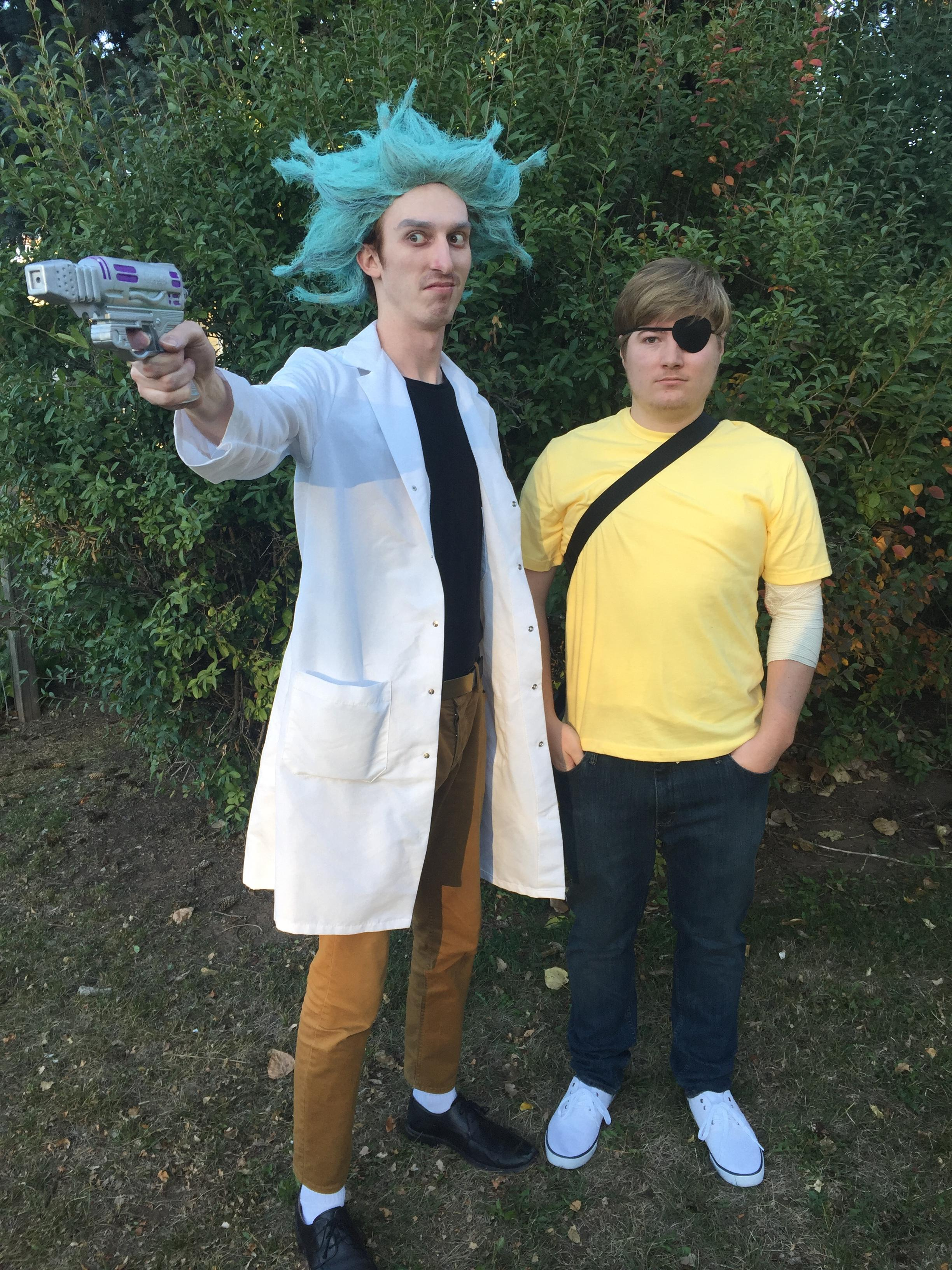 Rick and Morty halloween costume