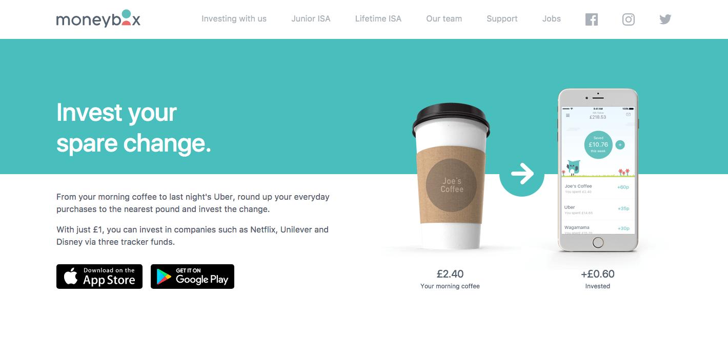moneybox - british start-ups
