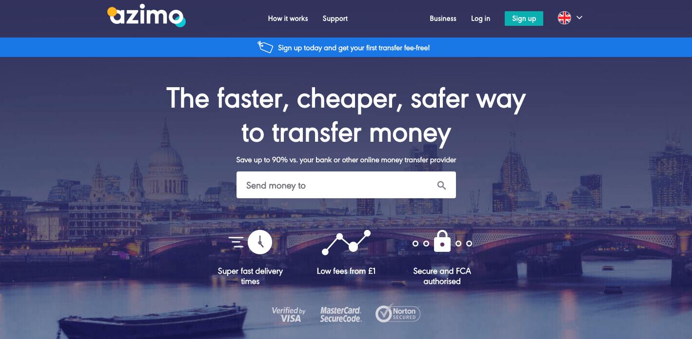 azimo - british start-ups