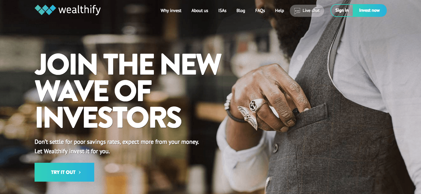 wealthify - british start-ups