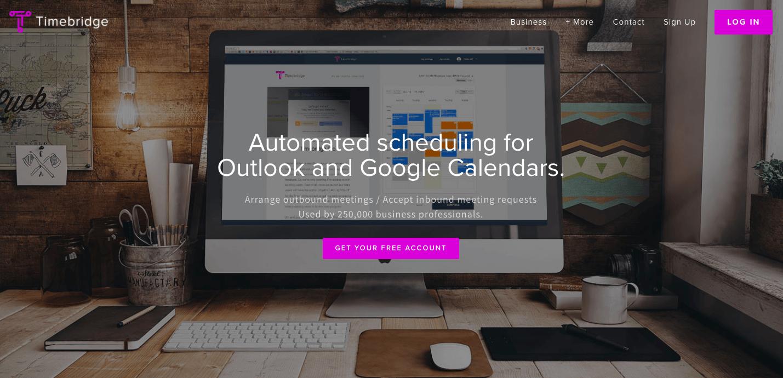 timebridge, event planning app