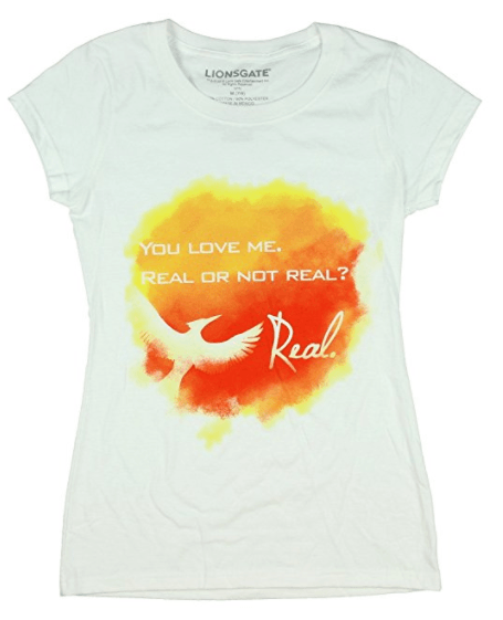 T-shirt quote, Mockingjay