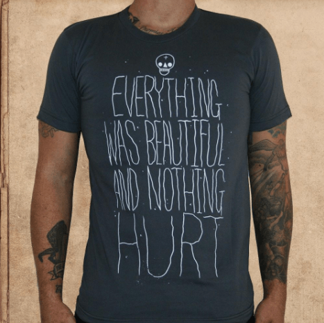 T-shirt Quote, Slaughterhouse Five
