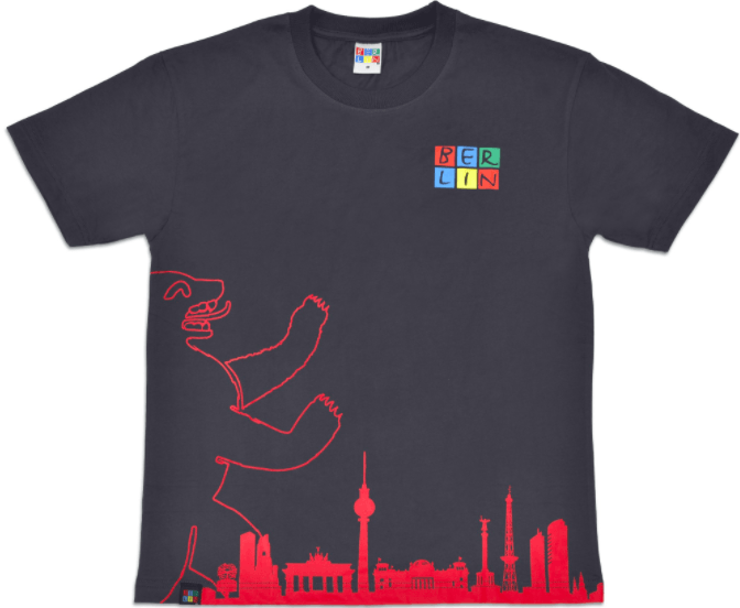 Berlin, Tourist T-shirts