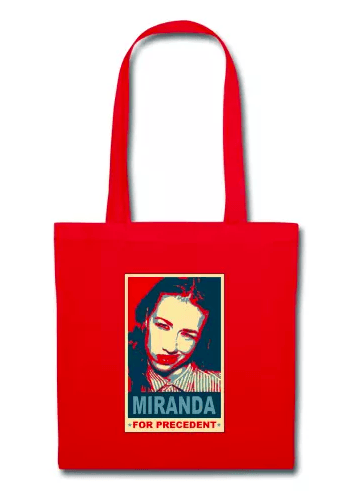 YouTuber Merchandise, Tote Bag, Miranda Sings