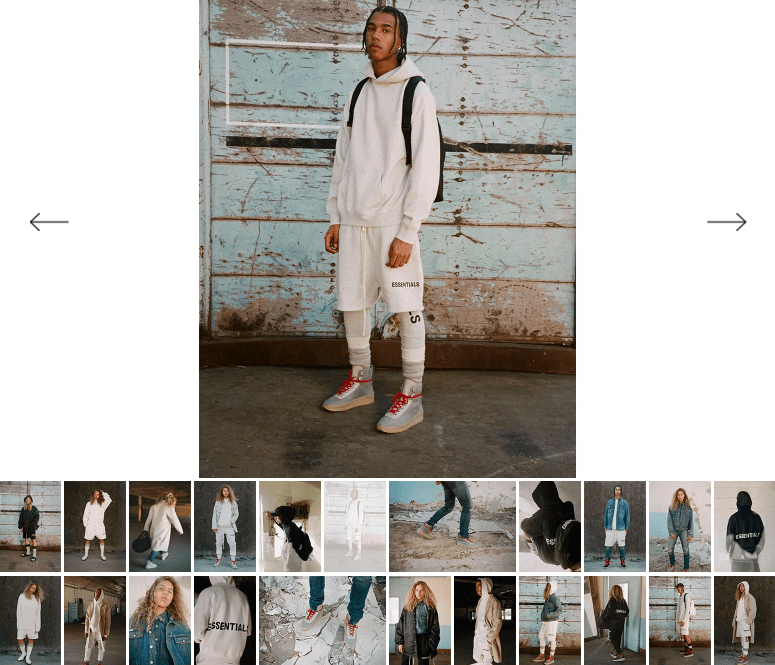 streetwear collaborations, pacsun, fear of god, fog