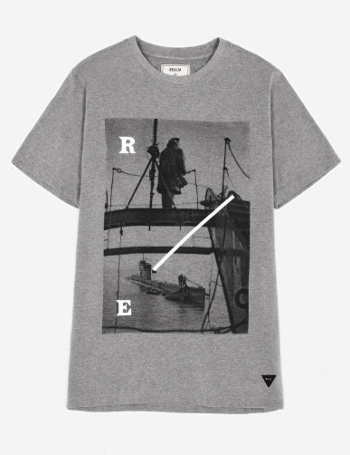 boom defence vessel, realm and empire, custom t-shirts uk