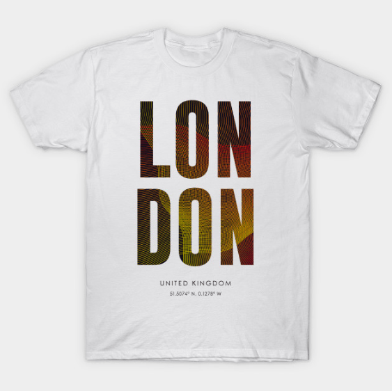 custom t-shirts, london