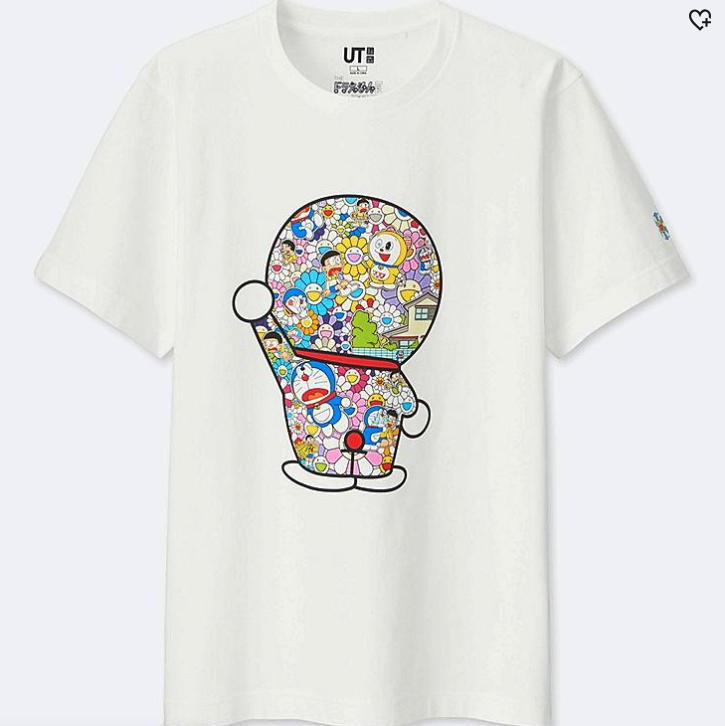 Uniqlo collaborations - Doraemon and Takashi Murkami