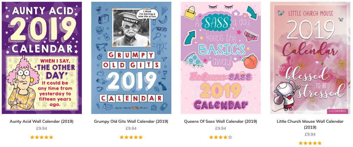 Backland Studio has developed other brands such as the Grumpy Old Gits.