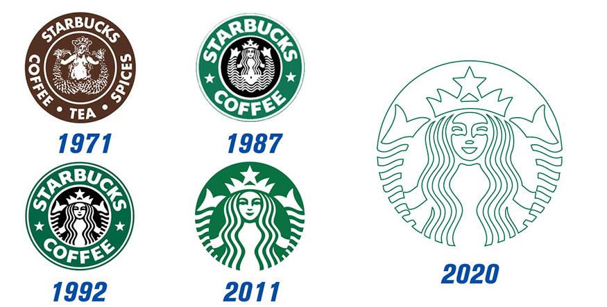 starbucks, starbucks logos, starbucks design,