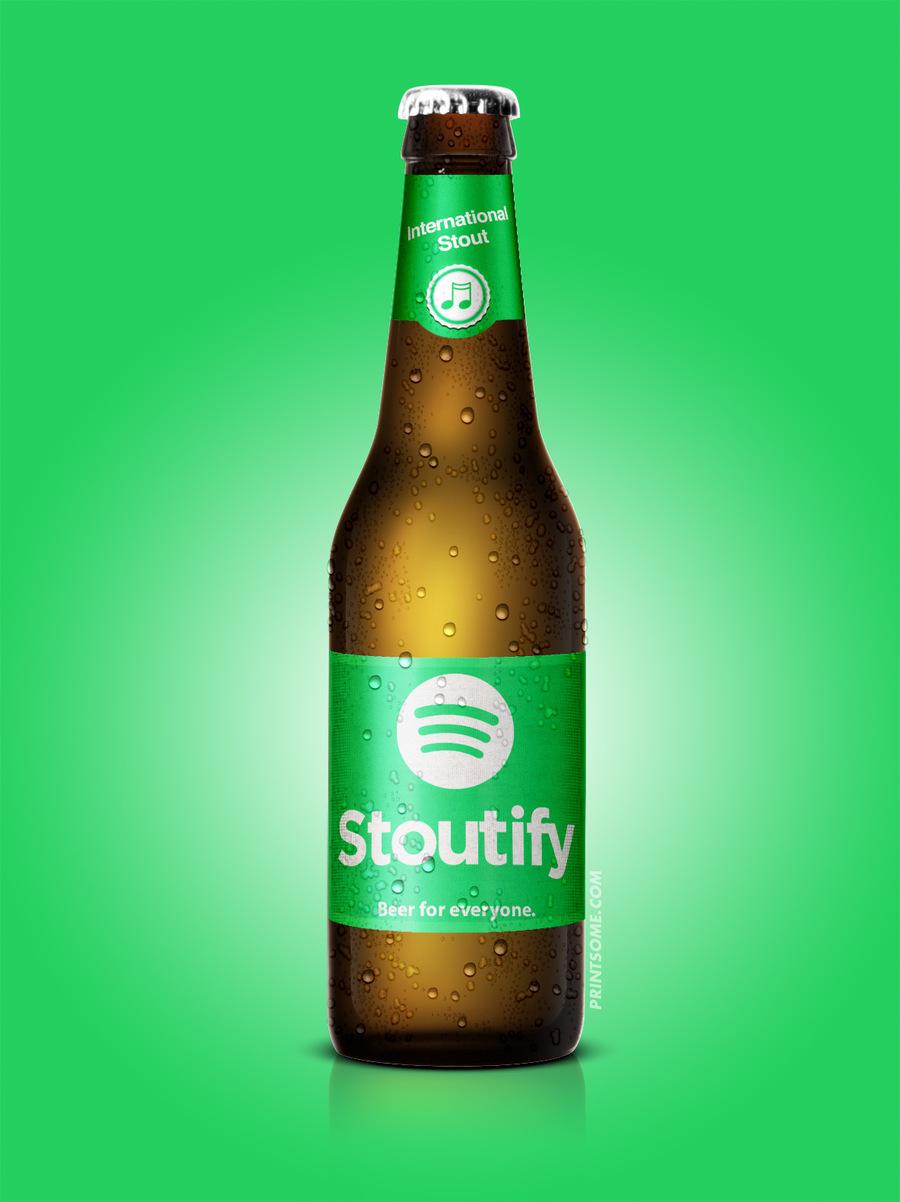 Stoutify, beer bottles