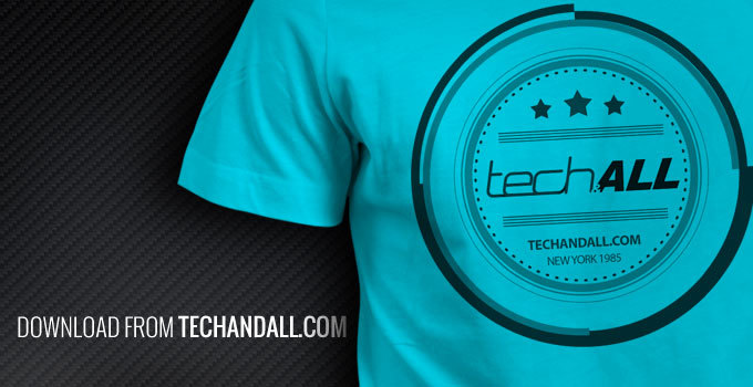 tech and all t-shirt mock up, t-shirt mockup