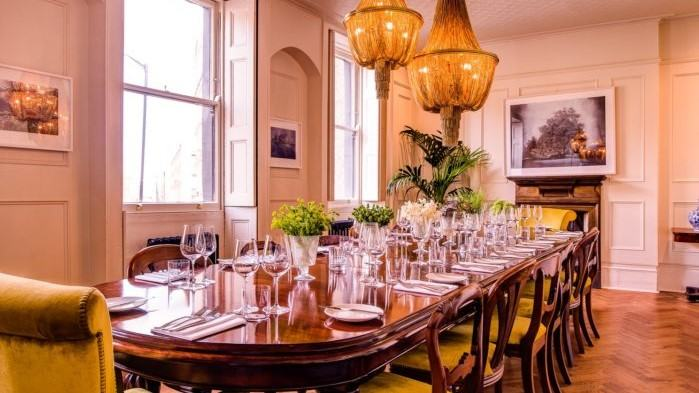 the harcourt, private dining rooms london