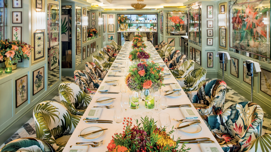 the ivy chelsea garden, private dining rooms london