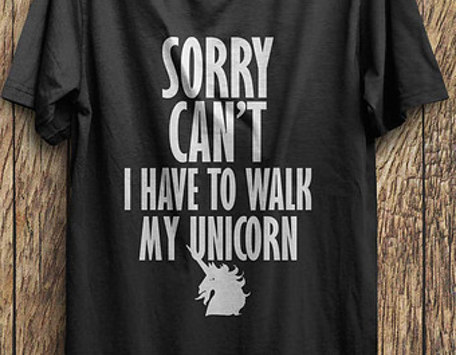 Unicorn t-shirt, creative t-shirt, hilarious unicorn t-shirts,