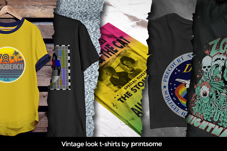 Vintage Looking T Shirts 19