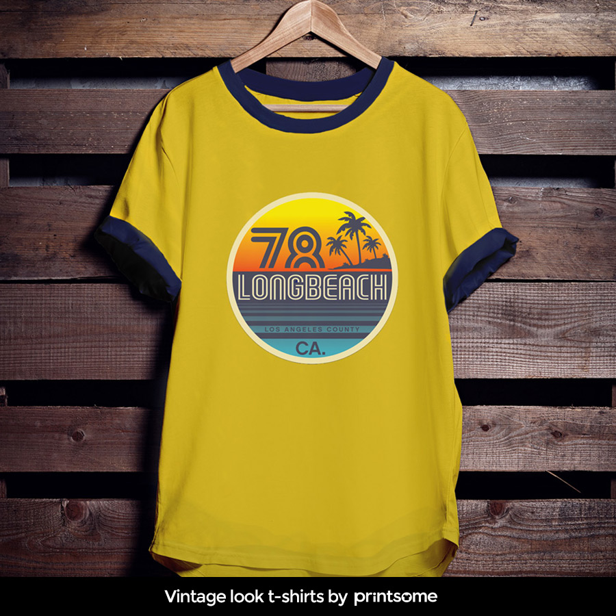Vintage-t-shirts-surf-style new