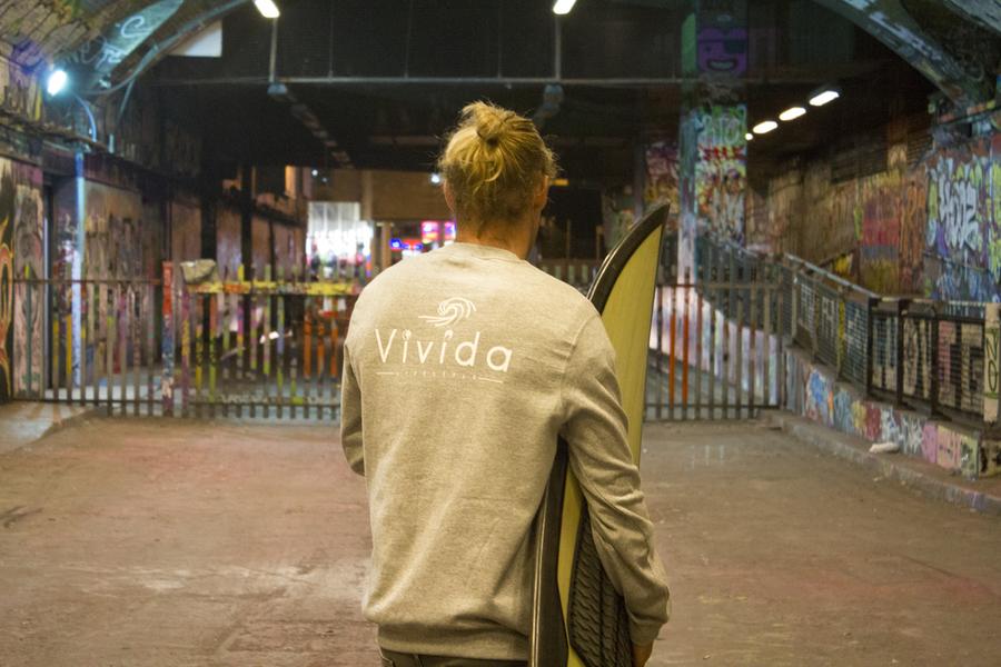 Vivida hoodie unisex