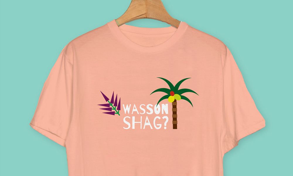 Wasson shag - Cornwall T-shirts