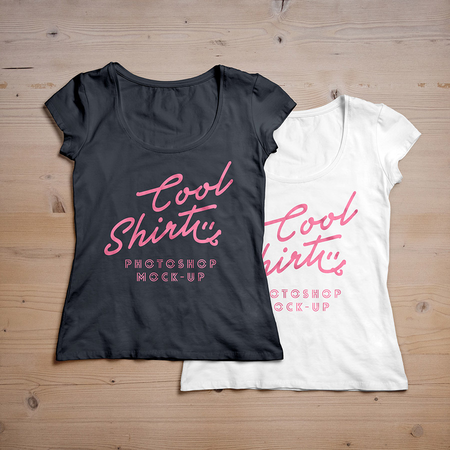 womens t-shirt template, womens t-shirt mockup