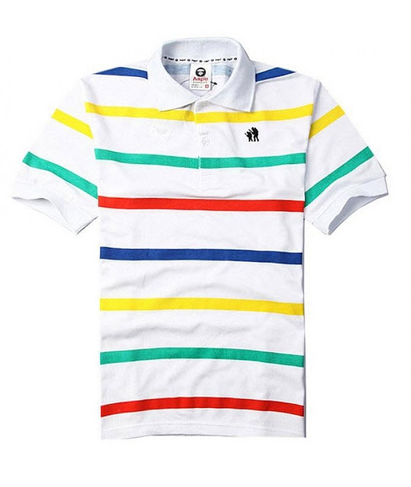 polo shirts, aape polo shirts, embroidery,