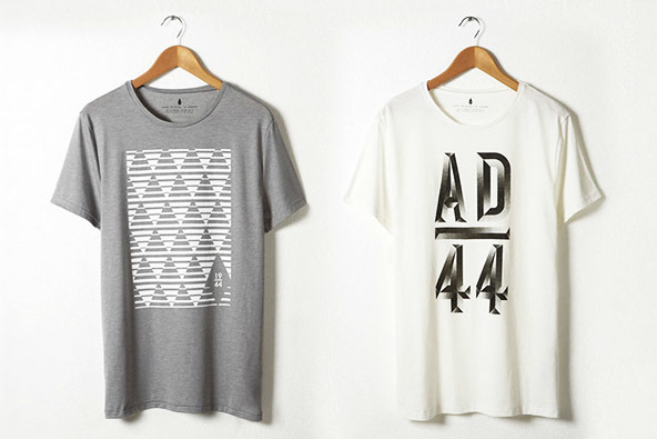 ad t-shirts, screen printing, geometric patterns, geometric t-shirts