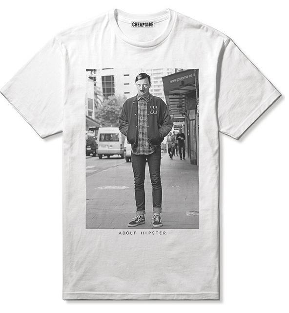 adolf hipster t-shirt, adolf hipster, hipster t-shirt