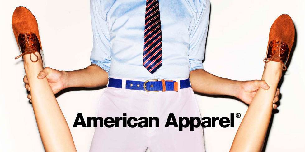 american apparel, fashion ad campaigns
