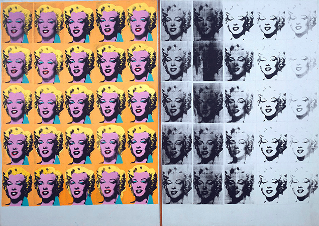 "Screen Printing: ""Marilyn Diptych"" 1962 - Andy Warhol"
