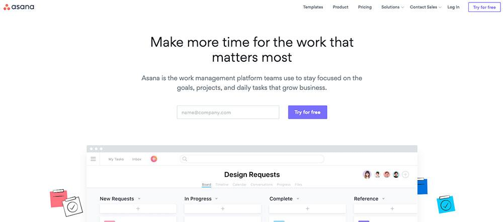 Apps for entrepreneurs - Asana