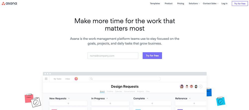 Apps for entrepreneurs - Asana