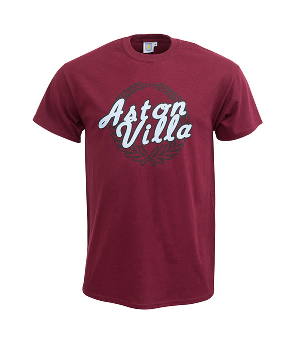aston villa, premier league, screen printing, t-shirt