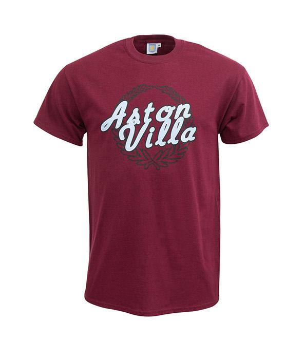 aston villa, premier league, screen printing, t-shirt