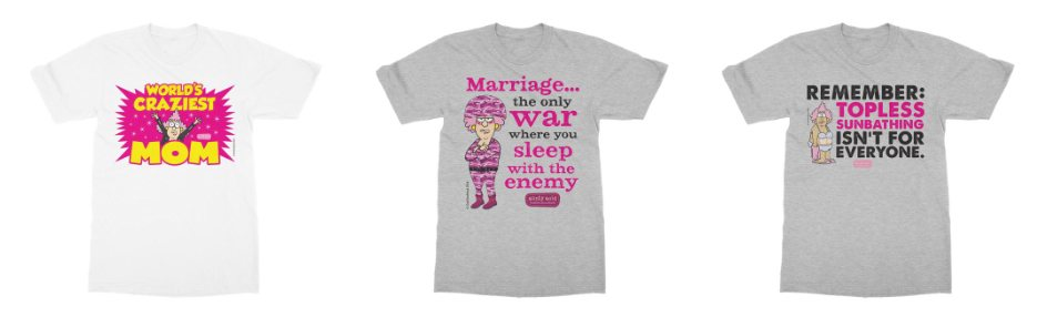 Aunty Acid T-shirts