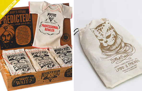 25 Cool T Shirt Packaging Design Examples Part 2