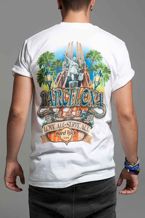 barcelona, barcelona t-shirt, t-shirts of cities,