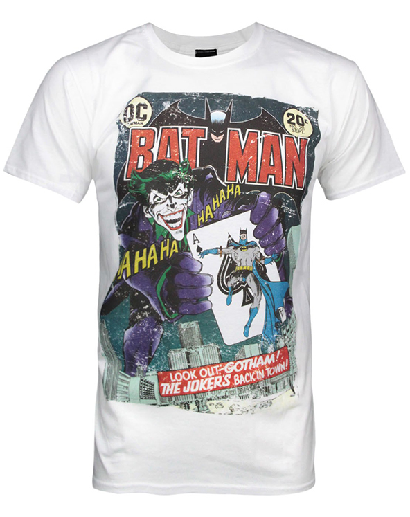 batman, the joker, the joker t-shirt, batman t-shirt, superheroes, superhero t-shirts