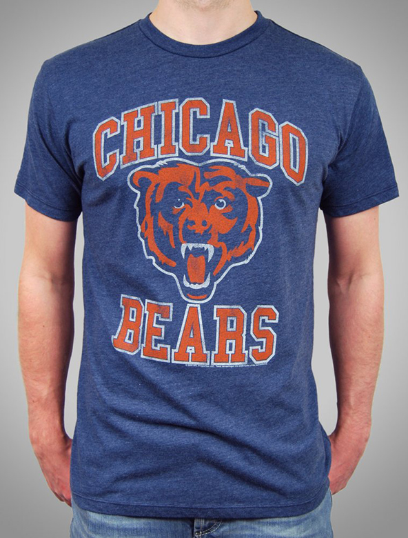 bears, chicago, nfl, t-shirt, screenprinting