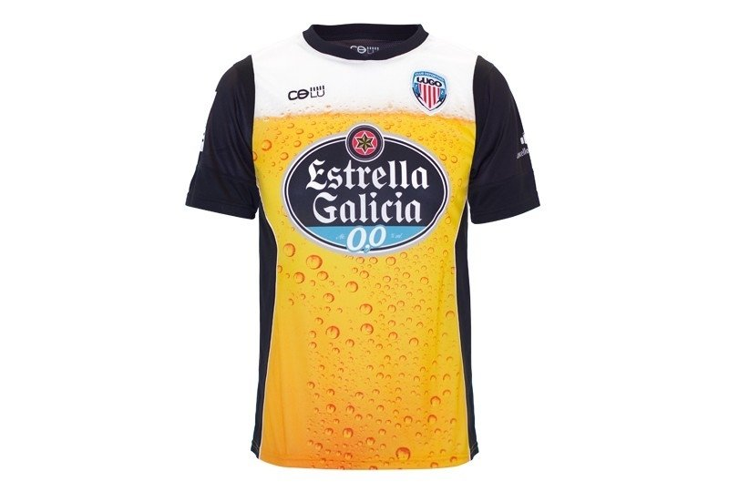 football shirt name and number, beer kit, lugo cd