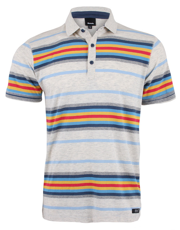 bench margam polo shirts, striped polo shirts, polo shirts, embroidery
