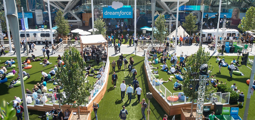 Dreamforce 2015, Salesforce.com's user and developer conference held at the Moscone Convention Center and various hotels in San Francisco from September 14-18, 2015. (© Photo by Jakub Mosur Photography)