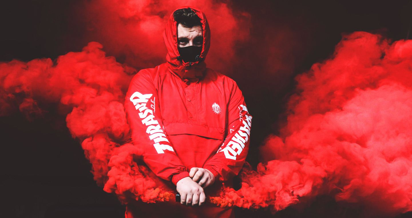 best streetwear brands, red smoke