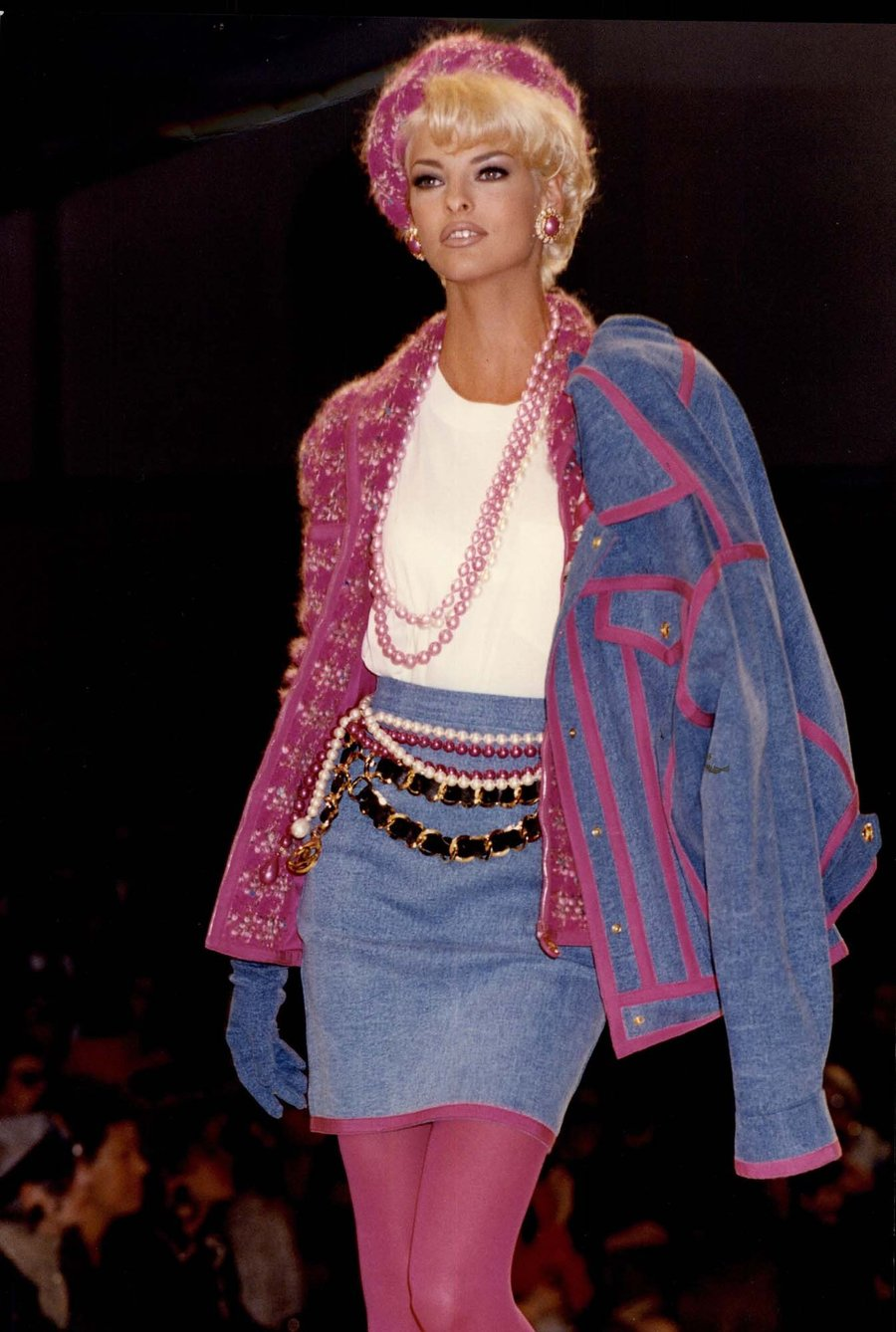 Linda Evangelista for Chanel in 1991