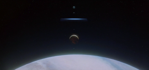 "Screengrab of ""2001: A Space Odissey"""