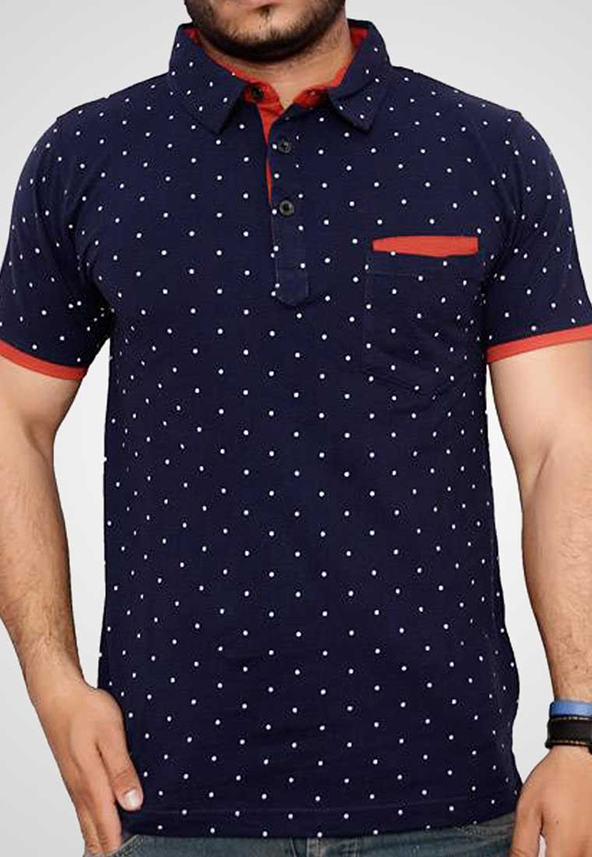 polo shirt, polo shirt printing, printed polo shirt, blue polo shirt
